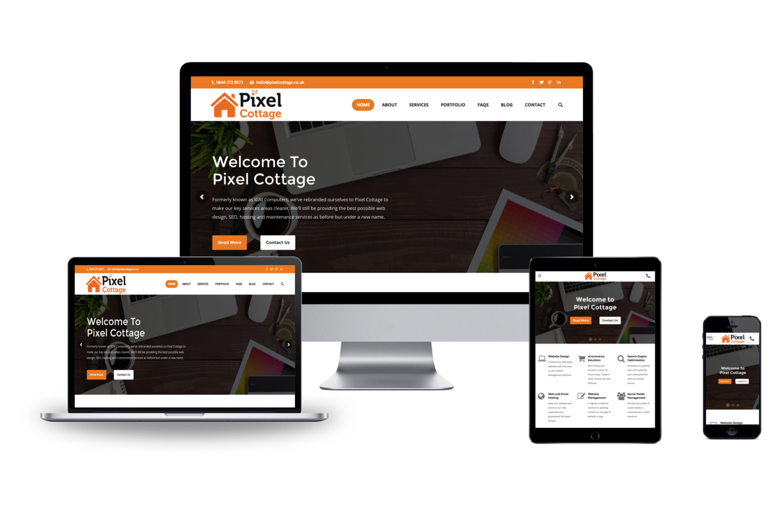 Brand new website for Pixel Cottage