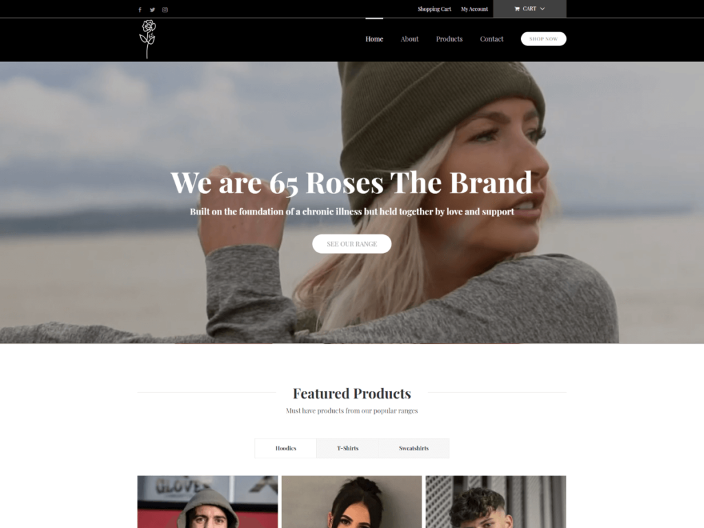65 Roses The Brand
